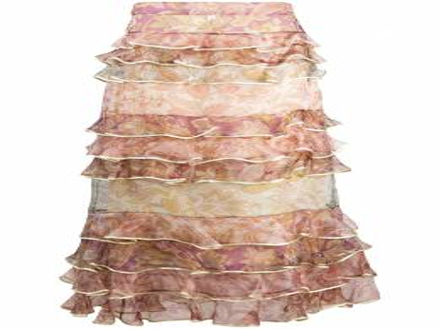 Zimmermann юбка макси с оборками и цветочным принтом 8754SLKY