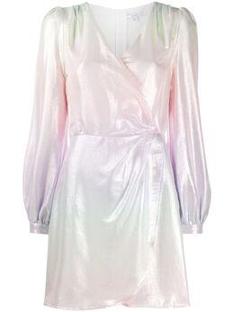 Olivia Rubin платье с запахом и длинными рукавами и эффектом омбре OR0272OMBRE