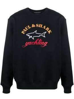 Paul & Shark толстовка с логотипом C0P1095