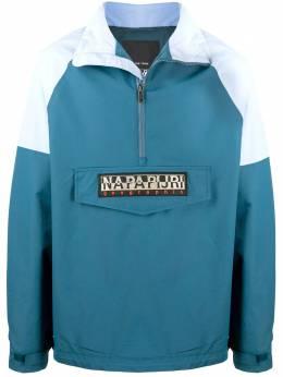 Napapijri куртка Astros в стиле колор-блок NP0A4ECTBA61
