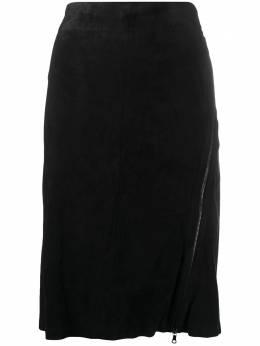 Isaac Sellam Experience юбка-карандаш с завышенной талией ENJAMBEESTRETCHNOIR