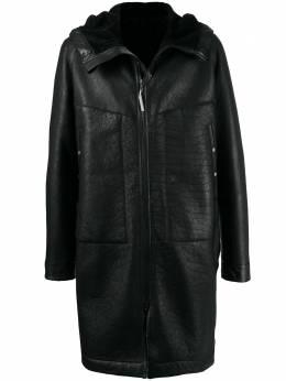 Isaac Sellam Experience пальто с капюшоном NEOPHYTESTRACK