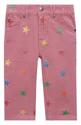 Хлопковые брюки Stella McCartney 601457/SPK83