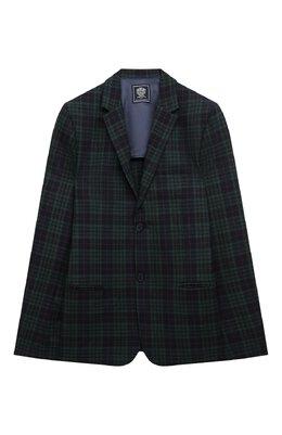 Шерстяной пиджак Dal Lago N048FQM/8921/17/L-18/XL