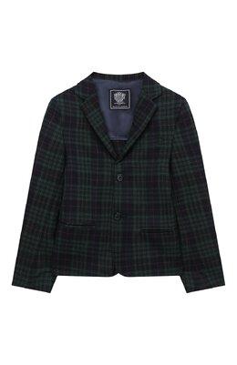 Шерстяной пиджак Dal Lago N048FQ/8921/4-6