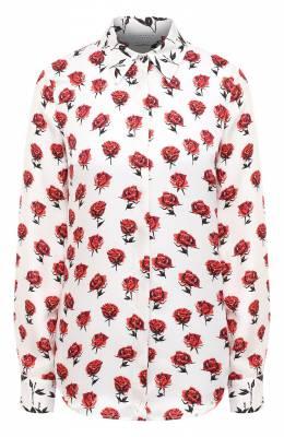 Шелковая блузка Gabriela Hearst 420100 P023