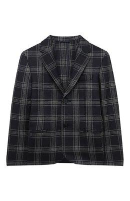 Шерстяной пиджак Dal Lago N089QM/8903/17/L-18/XL