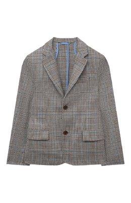 Шерстяной пиджак Dal Lago N085QM/8920/17/L-18/XL