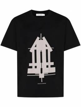 Craig Green футболка с короткими рукавами и принтом CGAW20CJETSS04