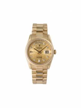 Rolex наручные часы Day-Date pre-owned 36 мм 2000-х годов 118238