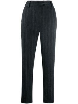 Gentry Portofino полосатые брюки прямого кроя D304TF