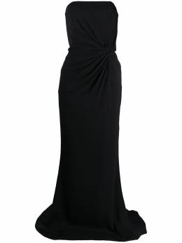 16Arlington приталенное платье с драпировкой G009AW20BLK