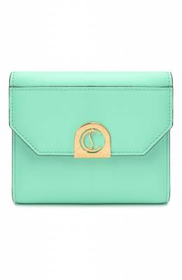 Кожаное портмоне Elisa Christian Louboutin elisa compact wallet calf p
