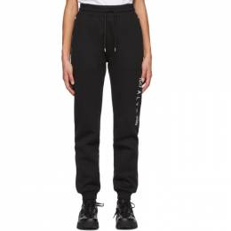 1017 Alyx 9Sm Black Visual Logo Lounge Pants AVUPA0044FA01.F20