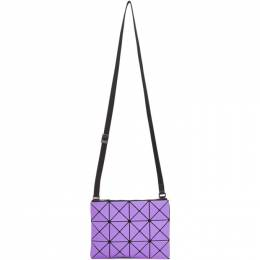 Bao Bao Issey Miyake Purple Lucent Frost Shoulder Bag BB08AG607