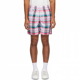 Noah Nyc Multicolor adidas Originals Edition Check Shorts GE1261