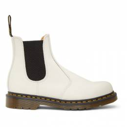 Dr. Martens White 2976 Chelsea Boots 26228100