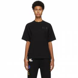 MCQ by Alexander McQueen Black Jack Branded Relaxed T-Shirt 624833RPR21