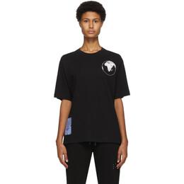 MCQ by Alexander McQueen Black World Beyond T-Shirt 624833RPJ46