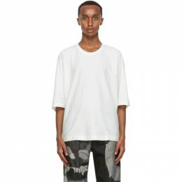 Homme Plisse Issey Miyake White Release T-Shirt HP09JK200