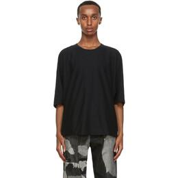 Homme Plisse Issey Miyake Black Release T-Shirt HP09JK200