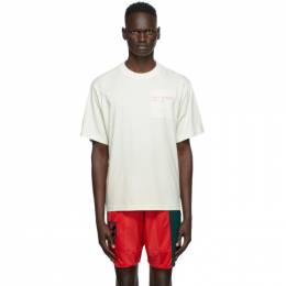 MCQ by Alexander McQueen Off-White Earth Pocket Relaxed T-Shirt 624722RPJ33