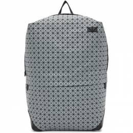 Bao Bao Issey Miyake Grey Kuro Liner Backpack BB09AG112