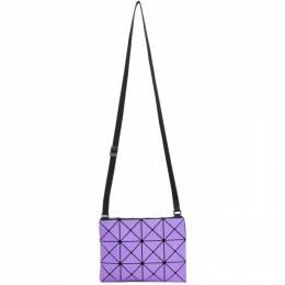 Bao Bao Issey Miyake Purple Lucent Frost Messenger Bag BB08AG607
