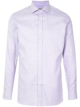 Gieves & Hawkes полосатая рубашка на пуговицах G40S3E132027