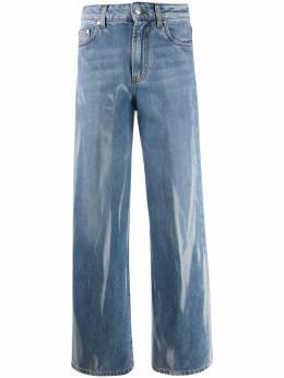 MSGM прямые джинсы с эффектом потертости 2941MDP51L207725