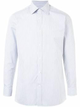 Gieves & Hawkes полосатая рубашка на пуговицах G40S3E121036