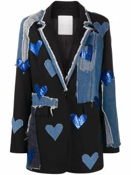 Loulou джинсовый блейзер со вставками SH2010165
