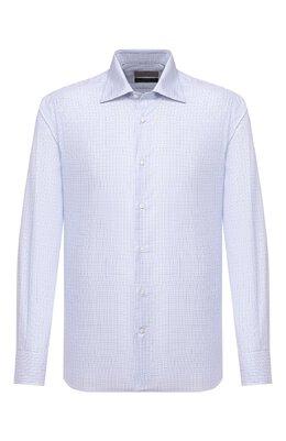 Хлопковая сорочка Canali XX05/GX02024