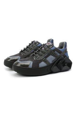 Комбинированные кроссовки Silverstone Hide&Jack 5AZRBLKGRY