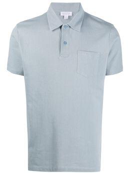 Sunspel рубашка поло Riviera с короткими рукавами MPOL1026