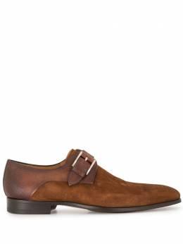 Magnanni туфли монки с удлиненным носком 20091
