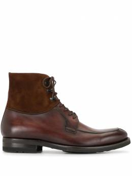 Magnanni ботинки на шнуровке 23291