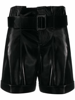 Federica Tosi шорты с присборенной талией SH0340EP0028