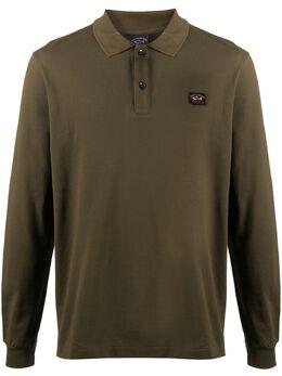 Paul & Shark рубашка поло с вышитым логотипом C0P1001