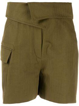 Kenzo шорты с присборенной талией FA62SH0549CB