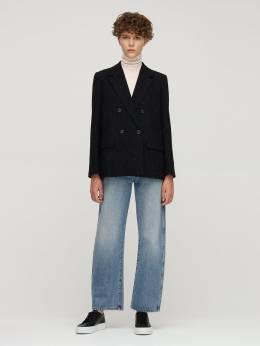 Wool Blend Tweed Blazer A.P.C. 72IWN3005-TFpB0