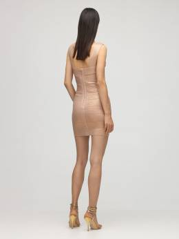 Платье Из Люрекса Стретч Herve Leger 72IL5V015-MjkzIFJPU0UgR09MRA2