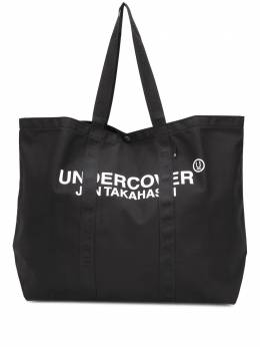 Undercover большая сумка-шопер с логотипом UCZ4B11