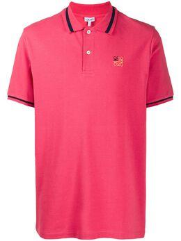 Loewe рубашка поло с вышивкой Anagram H526341X99