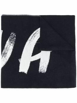 Nina Ricci широкий шарф с логотипом 20AMAC001ML0459