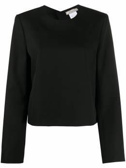 Nina Ricci блузка с вырезами 20ACTO012WV0241U9000