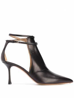 Francesco Russo туфли с заостренным носком FR35011A12020
