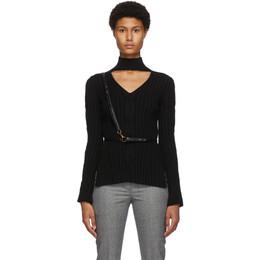 Alexander McQueen Black Leather Harness Belt 6325451MCCM