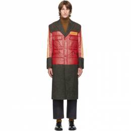 Junya Watanabe Red Pirelli Patch Coat WF-C017-051