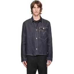 Junya Watanabe Indigo Levis Edition Denim Selvedge Shirt WF-J912-100